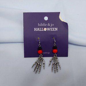 ⭐🎃 Hildie & Jo Skeleton Earrings Halloween NWT